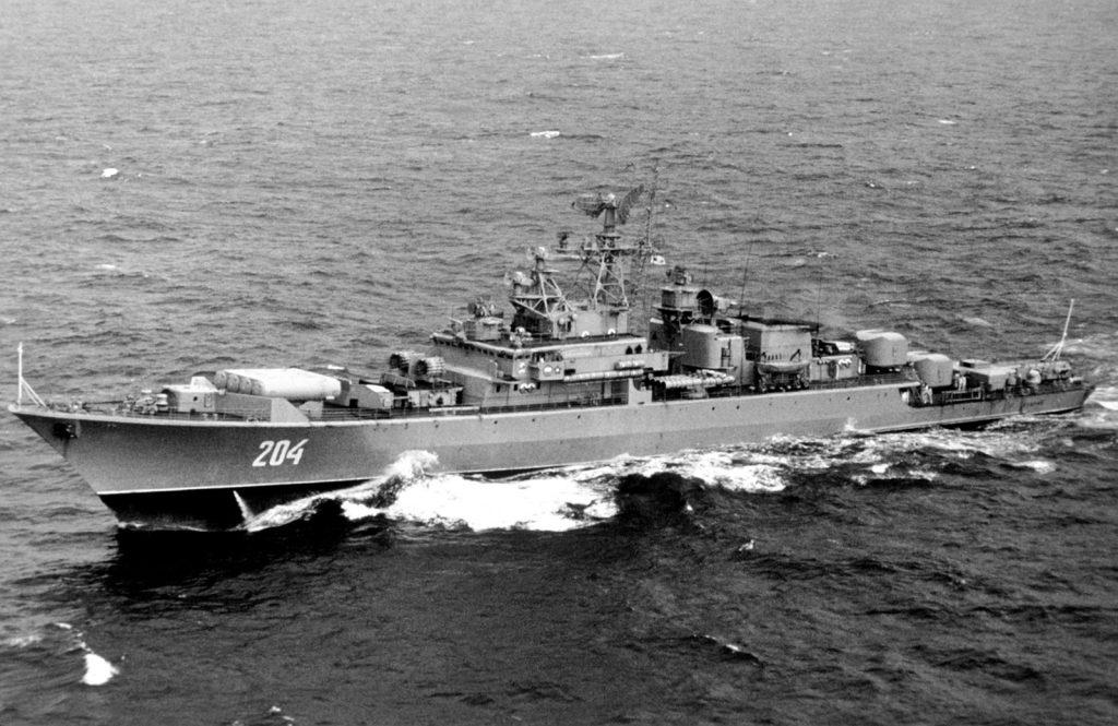 Fregatt av Krivak klass. Storozjevoj hade dock bognummer 500.